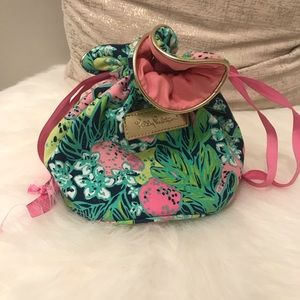 Lilly Pulitzer Travel Jewelry Pouch